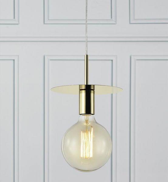DAGFINN 1L Brass Lampă suspendată