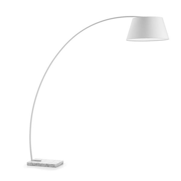 SWING WHITE Lampa stativa