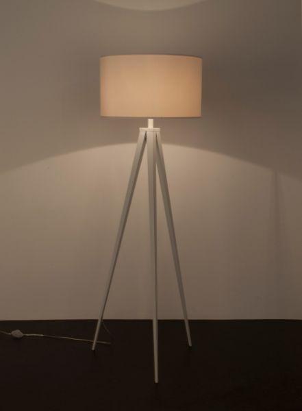 TRIPOD WHITE Lampă stativă