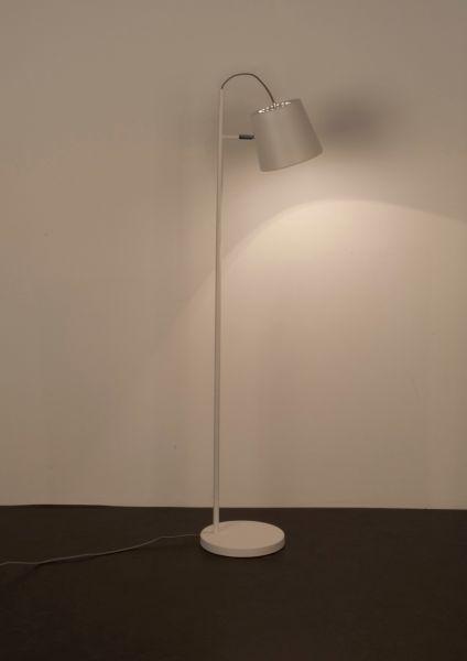BUCKLE HEAD WHITE Lampă stativă