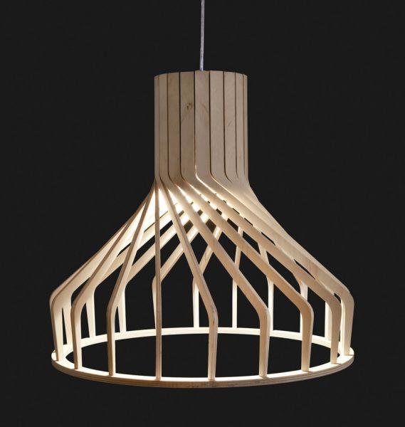 BIALY ROUND NATURAL Lampă Suspendată