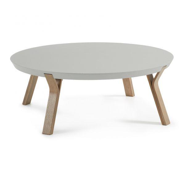 Măsuță rotundă SOLID STEJAR Ø90 cm