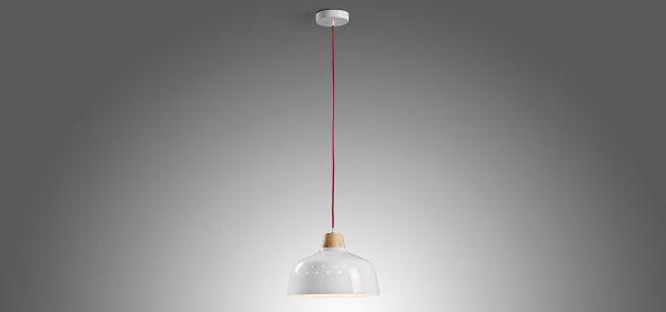 SKANGAARD WHITE Lampa suspendata