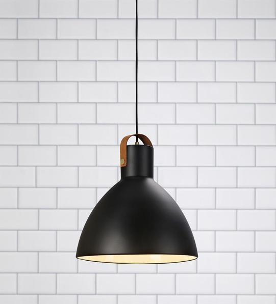HOLSTEBO BLACK 35 Lampă Suspendată