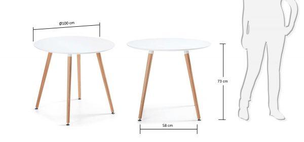 MASA DAW 100X73 cm