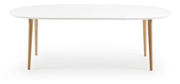 Masa extensibila NOEL WHITE 140(220)X90 cm