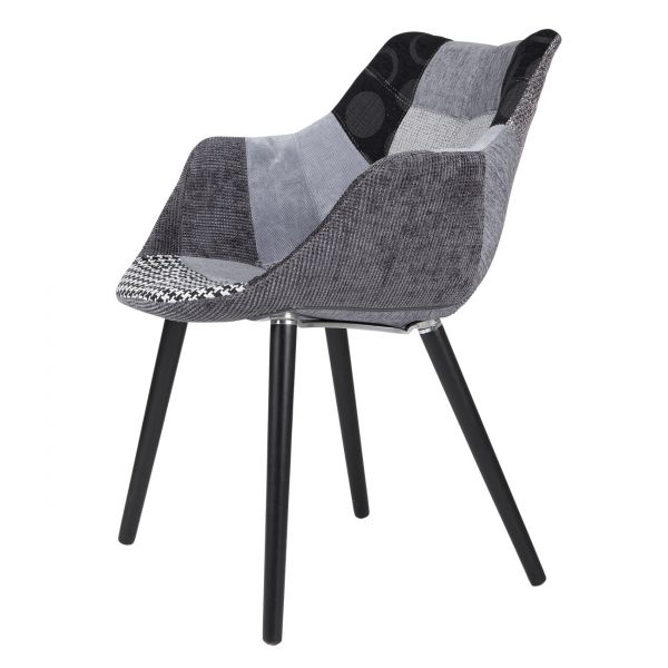 SCAUN TWELVE PATCHWORK GREY