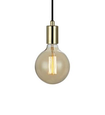SNORRE Pendant 1L Brass Lampa suspendata