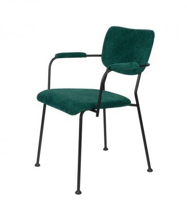 Scaun cu brațe BENSON GREEN