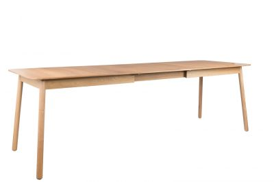 TABLE GLIMPS 180/240X90 NATURAL