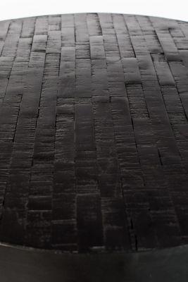Masă Bistro MAZE ROUND BLACK 75 cm