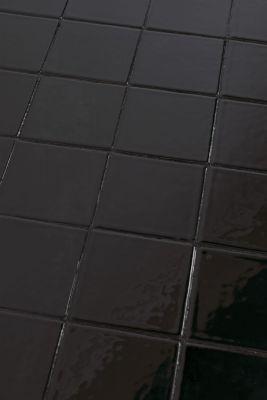 GLAZED BLACK Măsuță de cafea 43x93 cm