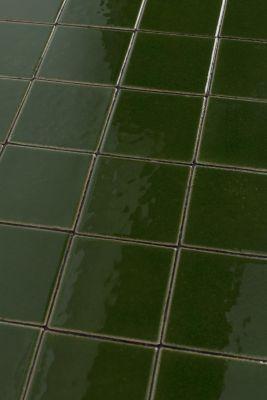GLAZED GREEN Măsuță de cafea 43x93 cm