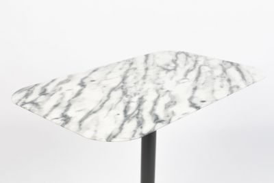 Măsuța SNOW MARBLE RECTANGLE 50x30 cm