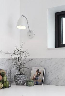 FREDRIK WHITE  Lampă de perete