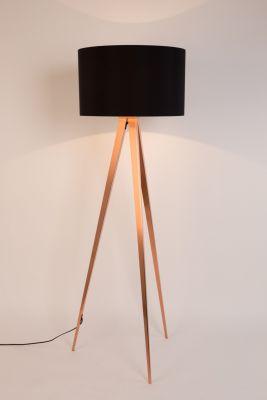 TRIPOD COPPER BLACK Lampă stativă