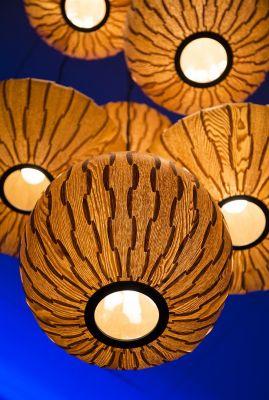 BOND ROUND Lampă Suspendată