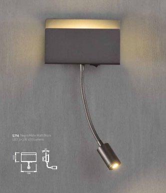 Lampă de perete RIFAN WHITE