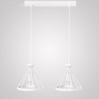 NOWUS 2L Lampa suspendata ALB