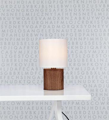 RAGNE WALNUT  Lampă de masă