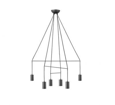 AVESTA BLACK 6L Lampă Suspendată