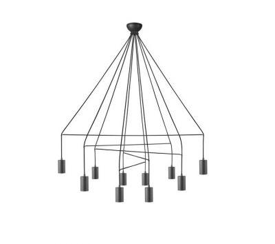 AVESTA BLACK 10L Lampă Suspendată
