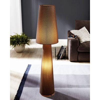 Lampă de podea LAMPARA BROWN