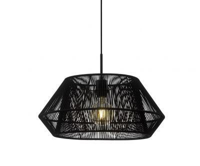 Lampă suspendată PALMONES ROUND BLACK