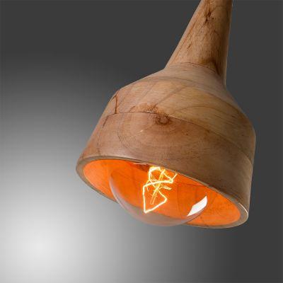 Lampă suspendată ALET WOOD