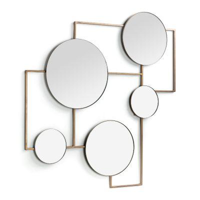 Oglindă LATTE BRASS