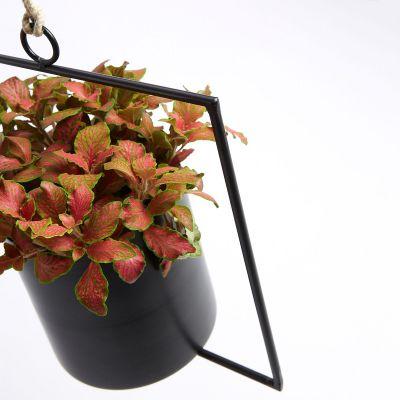 Ghiveci de flori CINDER BLACK