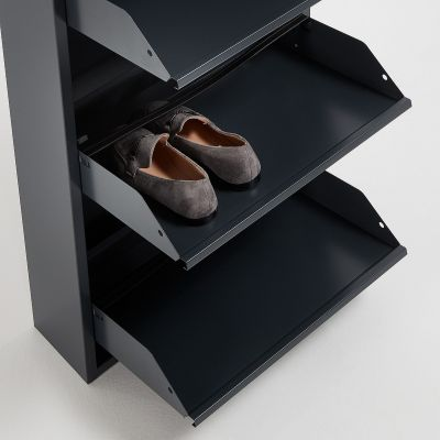 Dulap pantofi 5 compartimente LUCIA GRAPHITE