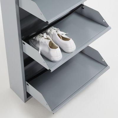 Dulap pantofi 5 compartimente LUCIA GREY