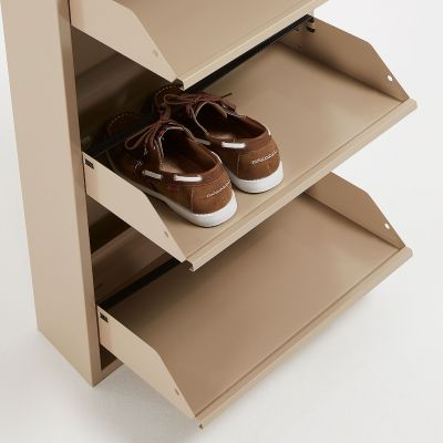 Dulap pantofi 5 compartimente LUCIA BEIGE