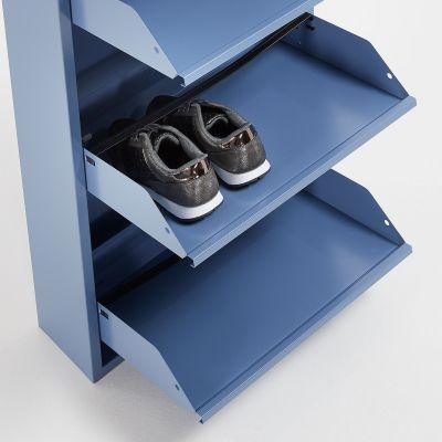 Dulap pantofi 5 compartimente LUCIA BLUE
