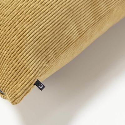Husă de pernă NAMIA Corduroy Mustard 45 x 45 cm