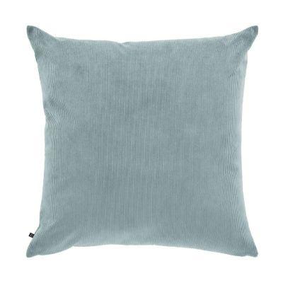 Husă de pernă NAMIA Corduroy Turquoise 60 x 60 cm