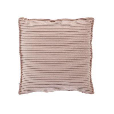 Husă de pernă WILNA CORDUROY Pink 45 x 45 cm