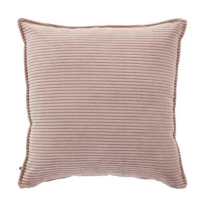 Husă de pernă WILNA CORDUROY Pink 60 x 60 cm