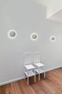 Lampă de perete ABONA SQARE WHITE