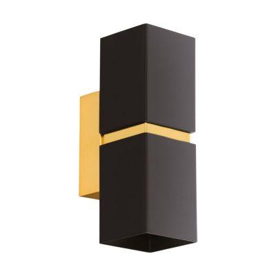 Lampă de perete PASSA SQUARE GOLD