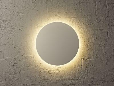 Lampă de perete ABONA ROUND SILVER