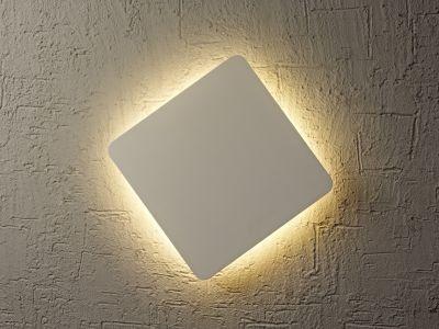Lampă de perete ABONA SQARE SILVER