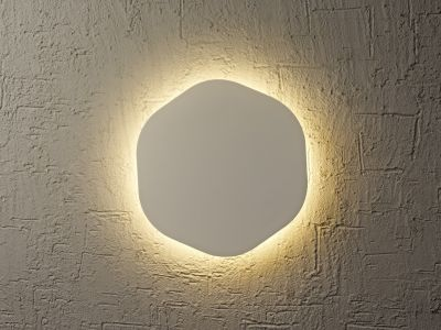 Lampă de perete ABONA HEXA SILVER