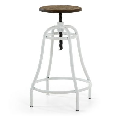 SCAUN BAR HOLIDAY WHITE