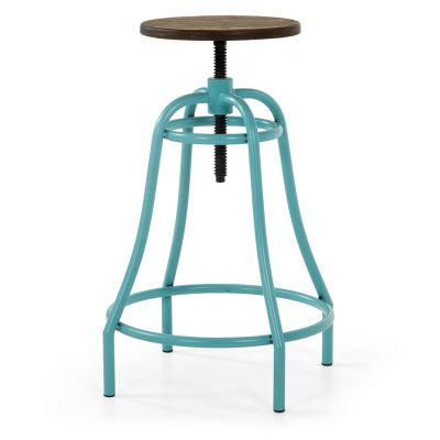 SCAUN BAR HOLIDAY TURQUOISE