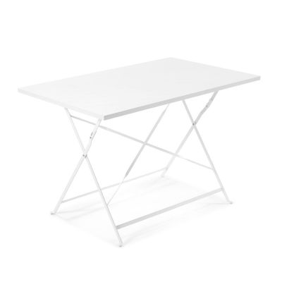 Masă RIK WHITE 110x70 cm