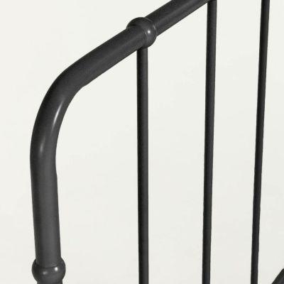 Tăblie pat OMIA BLACK 98 x 110 cm