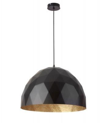 DIAMANTIS Lampa suspendata-NEGRU/AURIU O50