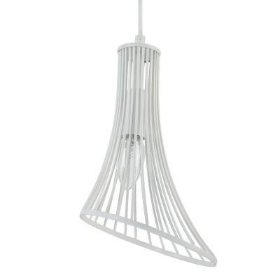 Lampă suspendată GINA WHITE 16 cm